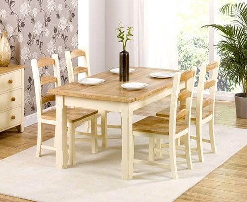 Moderny jedalensky stol - dreveny