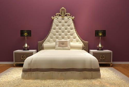 Luxusna manzelska postel