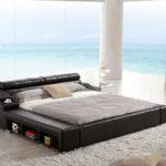 Moderna kozena manzelska postel