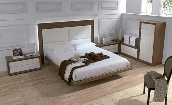 Moderna manzelska postel do spalne