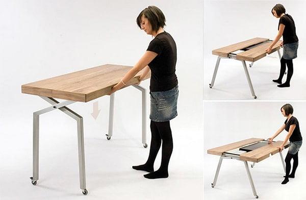 Moderny rozkladaci jedalensky stol