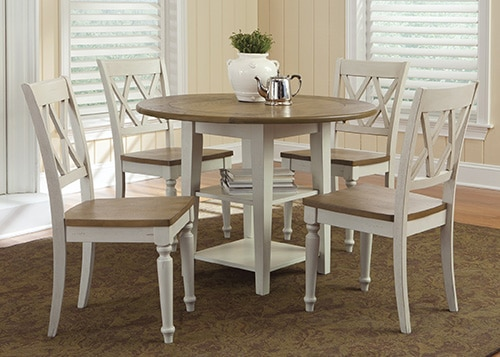 Okruhy jedalensky stol - dreveny