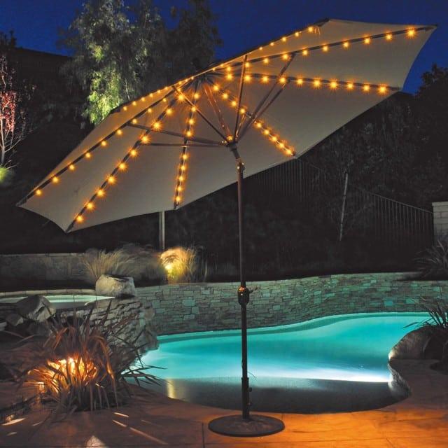 LED zahradny slnecnik