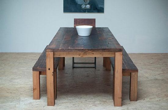 Sedliacky jedalensky stol