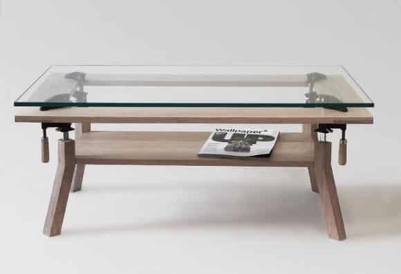 Konferencny stolik - nastavitelny