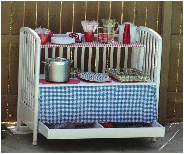 Kuchyna z detskej postielky