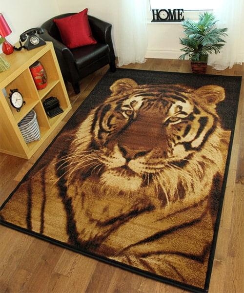 Kusovy koberec - tiger