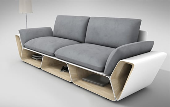 Moderna latkova sedacka - dizajnova