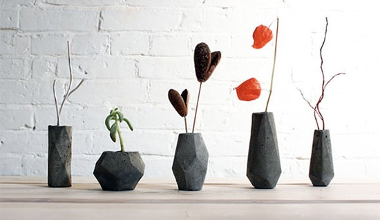 Moderne vazy - kamen
