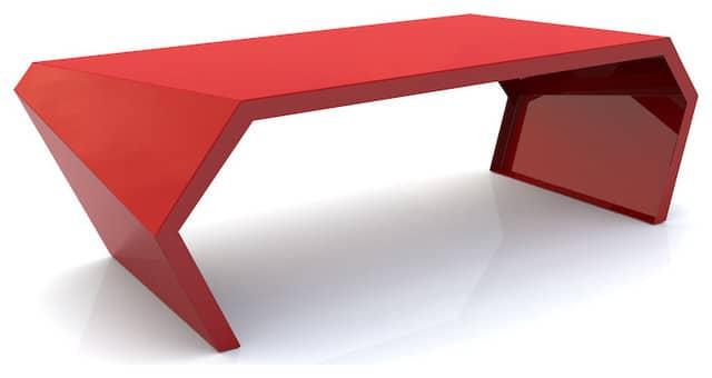 Moderny plastovy konferencny stolik