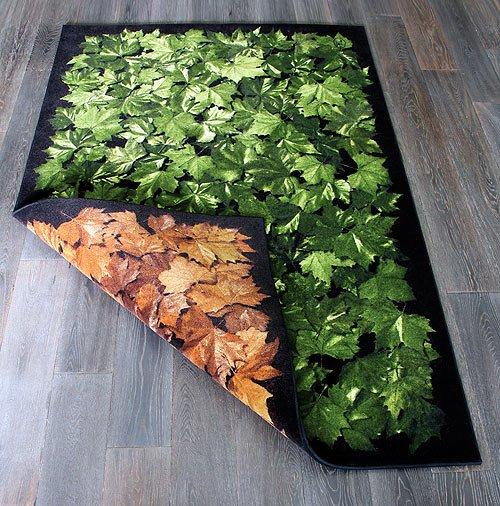Obojstranny kusovy koberec