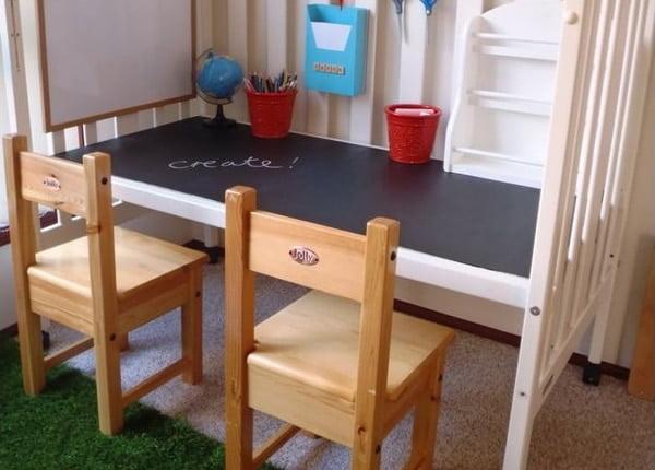 Moderny stol - detska postielka