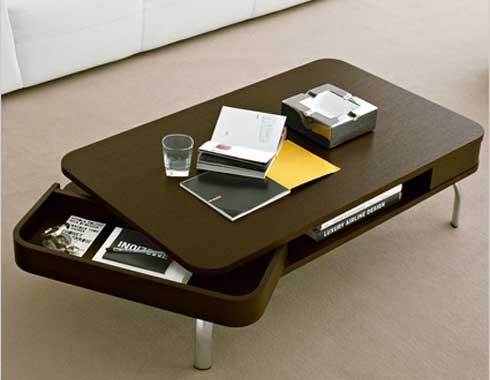Retro konferencny stolik