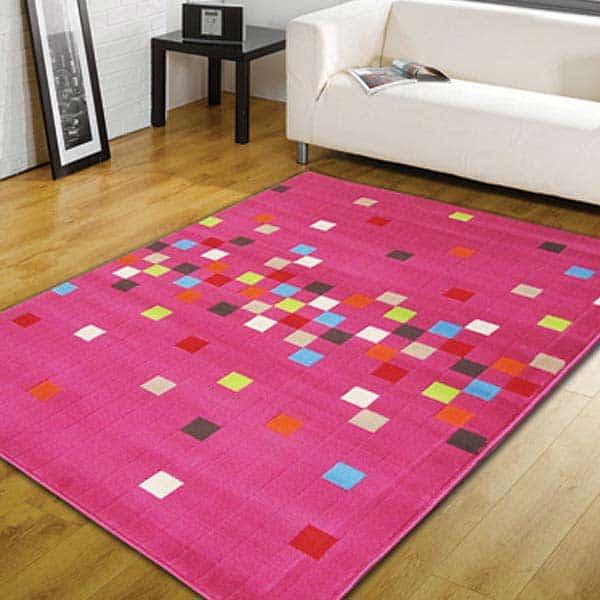 Retro kusovy koberec