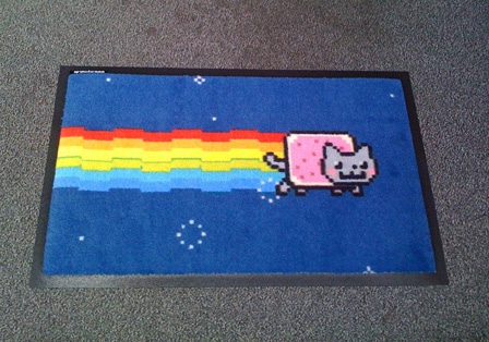 Rohozka Nyan Cat