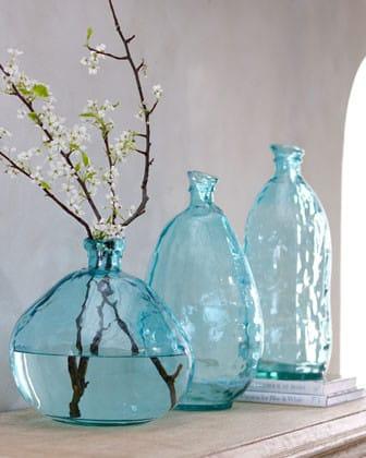 Kreativne sklenene vazy