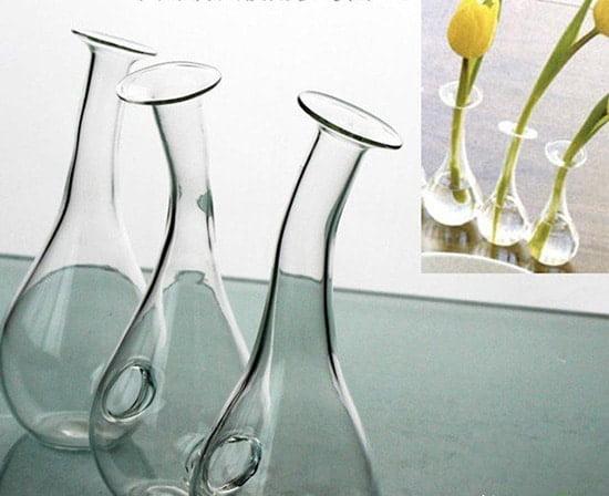 Sklenene vazy