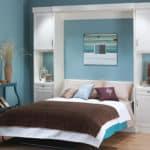 Sklopna postel v skrini