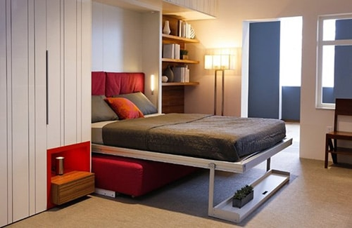Vyklapacia postel s pohovkou