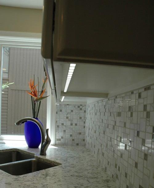 LED osvetlenie na kuchynsku linku