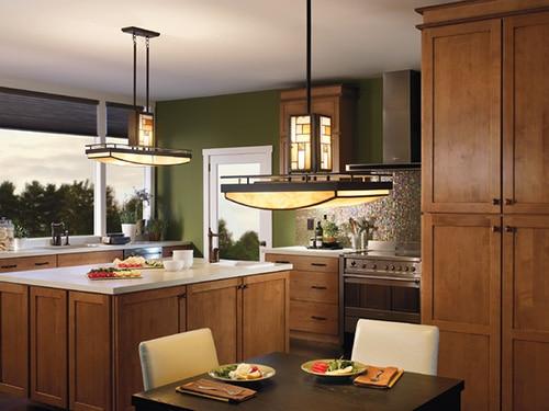 Moderny kuchynsky luster