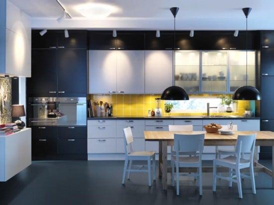 Moderne osvetlenie do kuchyne