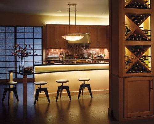 Moderny luster do kuchyne