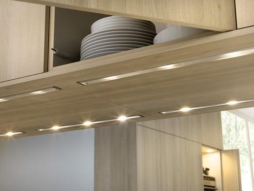 Osvetlenie na kuchynsku linku - zabudovane