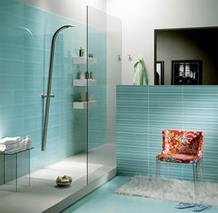 Obklad v modernej kúpeľni