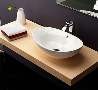 Moderné umývadlo - otvorené