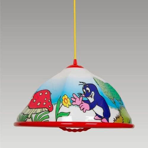 Detská lampa - krtko