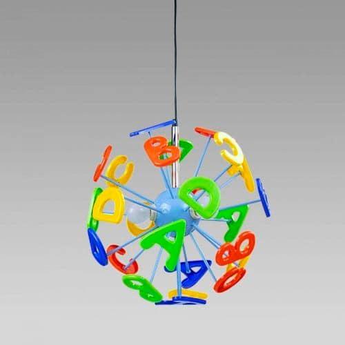 Farebná lampa do detskej izby
