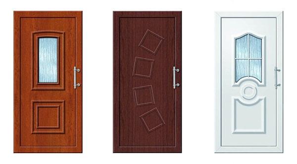 Moderné vchodové dvere