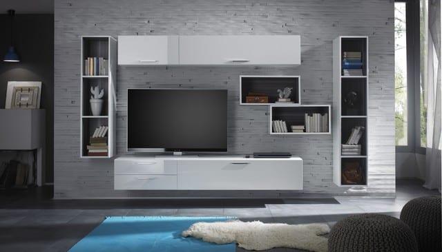 Moderná obývacia stena