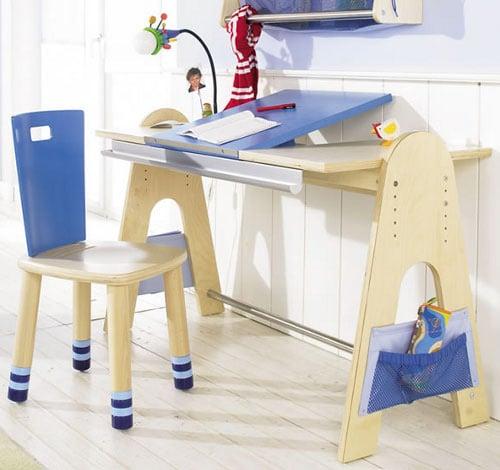 Nastaviteľný stôl pre deti