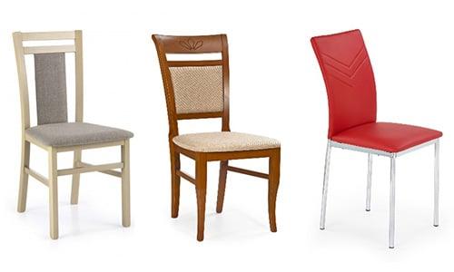 Moderné jedálenské stoličky