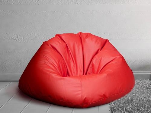 Červený sedací vak