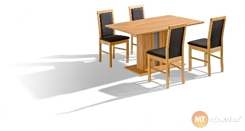 Jedálenský set - stôl a stoličky