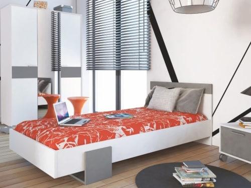 Jednolôžková posteľ - moderný dizajn