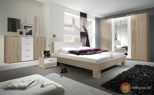 Lacná moderná spálňa
