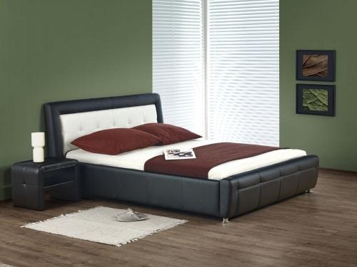 Manželská čalúnená posteľ
