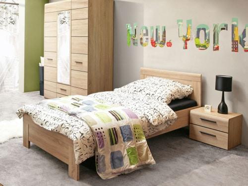 Moderná posteľ pre jedného