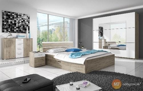 Svetlá moderná spálňa