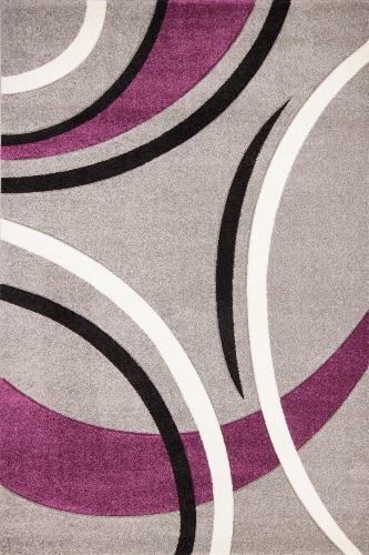 Moderný dizajnový koberec