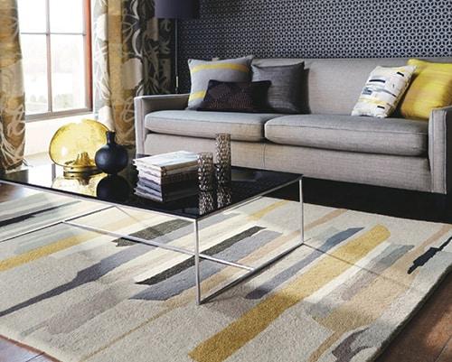 Moderný kusový koberec