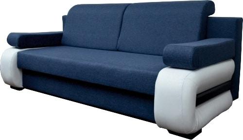 Modrá sedačka do obývačky