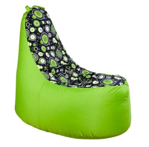 Zelený sedací vak