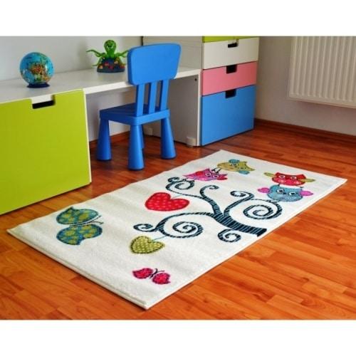 Detský koberec - sovy