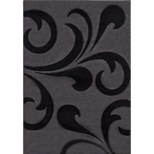 Sivý kusový koberec