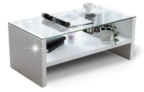 Konferenčný stolík - biely